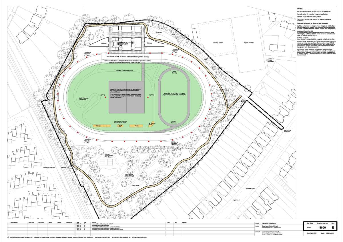 Design for the new Velodrome