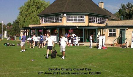 Deloitte Fun Day at SCST on 11 June 2011
