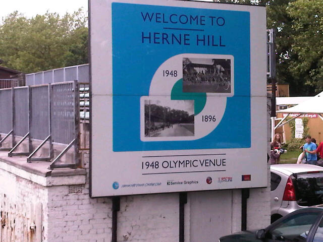 Herne Hill Velodrome Event – Sunday 25th August 2013, 12-6pm Rollapaluza Keirin