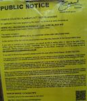 Southwark Public Notice of the Velodrome Planning Application