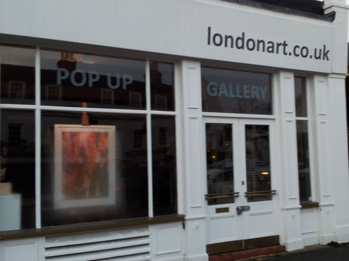 Londonart.co.uk gallery in Dulwich Village