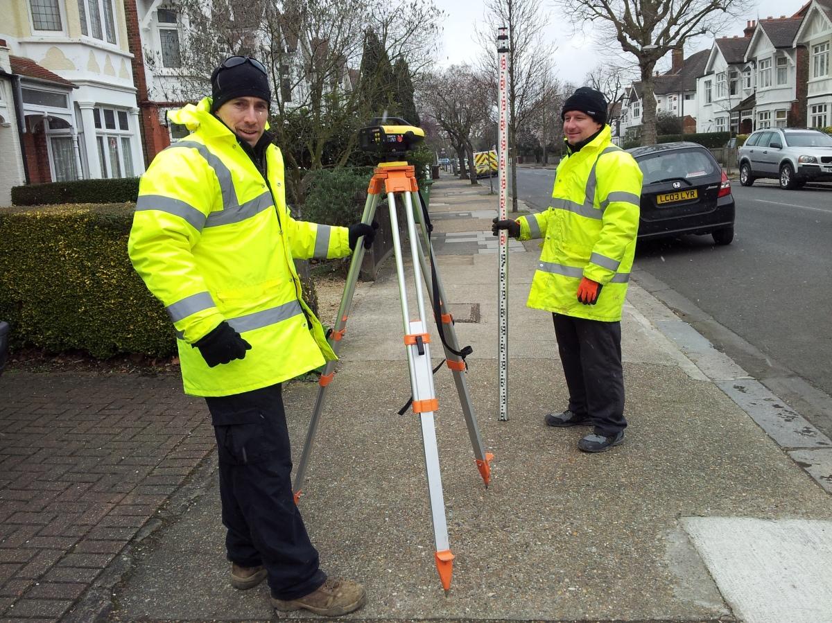 Turney Road Surface Water Survey is underway