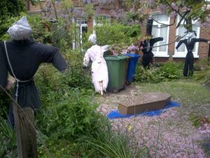 Croxted Rd scarecrows