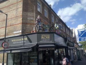 William Rose scarecrows