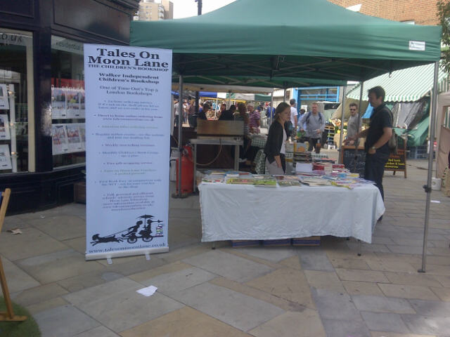 Tales on Moon Lane at Herne Hill Market 1st Sept 2013 (photo: S Badman)