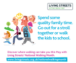National Walking Month 2014 - Walk to Work and School