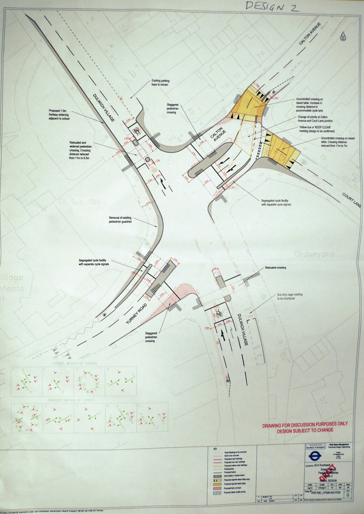 Dulwich Village Junction – latest