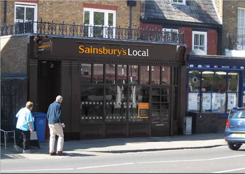 Sainsbury's moving into Dulwich Village – please protect the heritage shopping parade