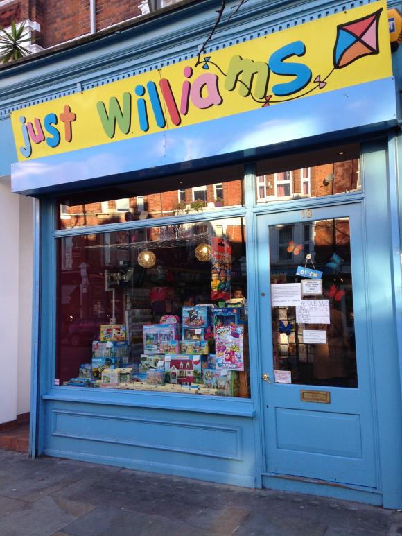 "Closure of ""Just Williams"" Toyshop – a watershed moment for Herne Hill?"