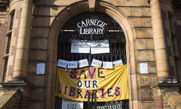 Save Lambeth's Carnegie Library – Demo Saturday 9th April 2016, 11.30am Carnegie Library