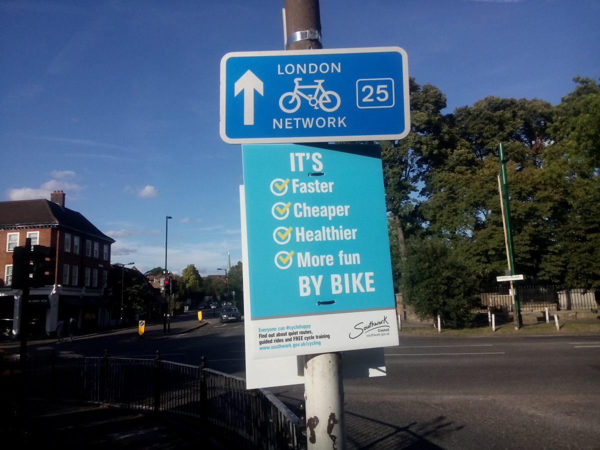 Quietway – breaking news!