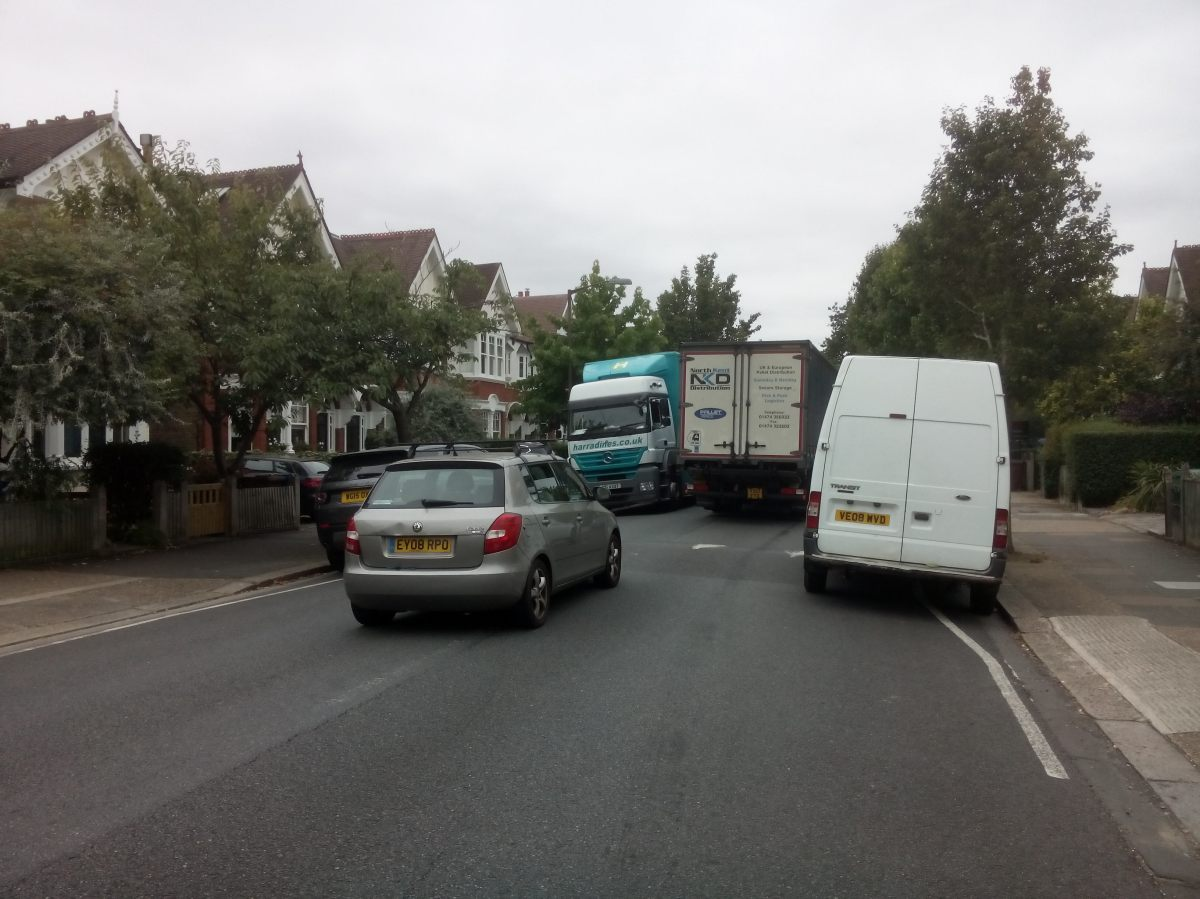 Traffic management in Dulwich