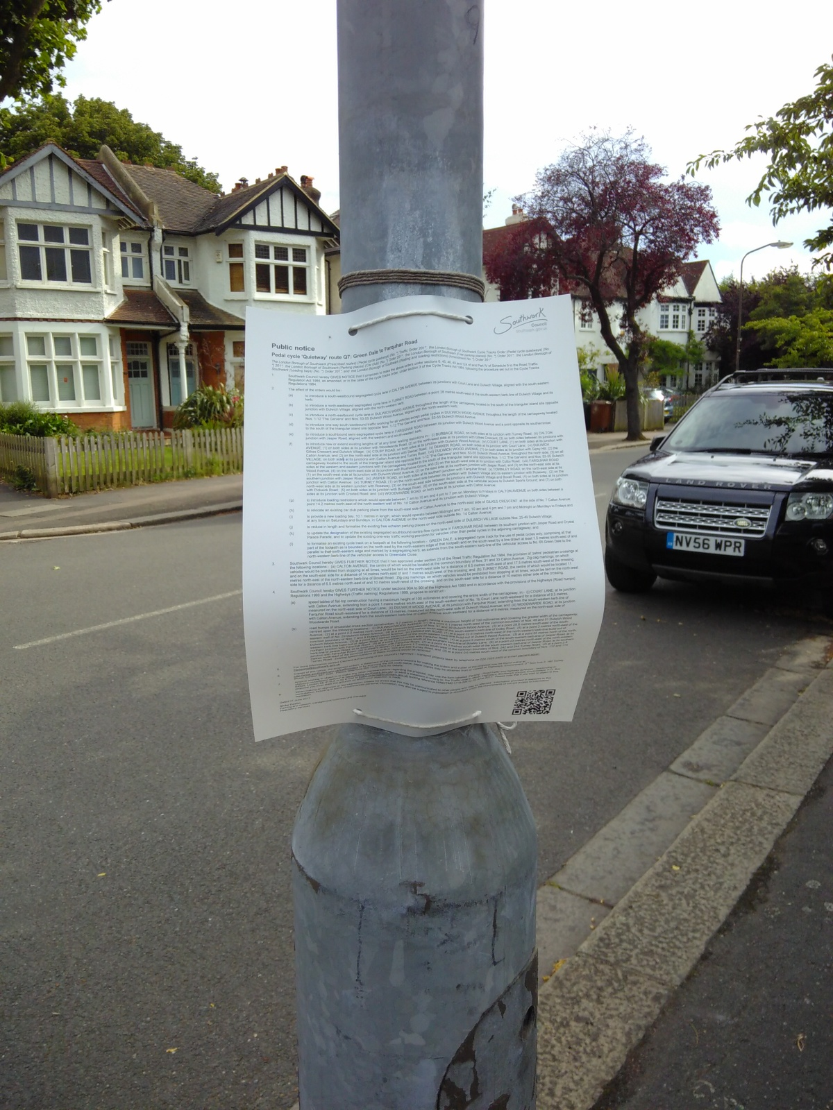 Quietway through Dulwich Village expected to goahead