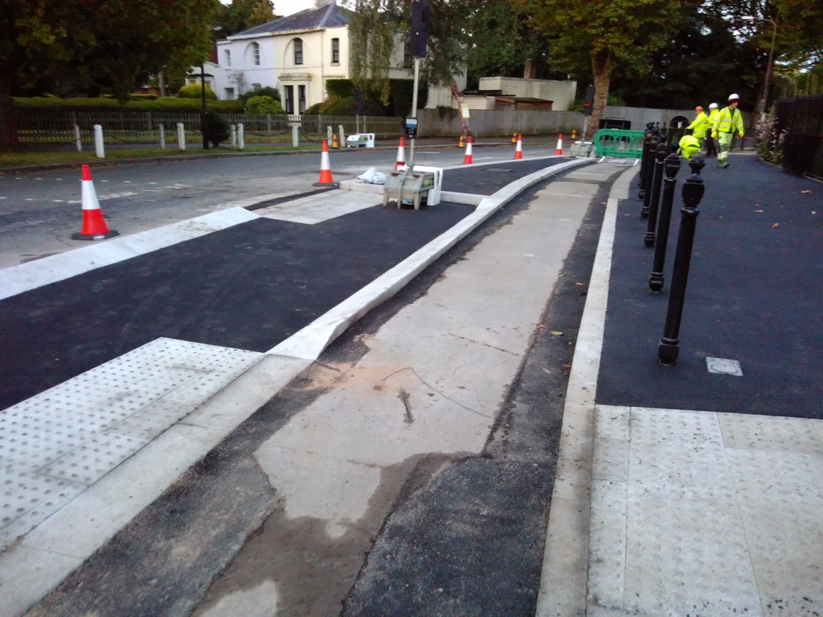 Village Crossroad Changes Progressing