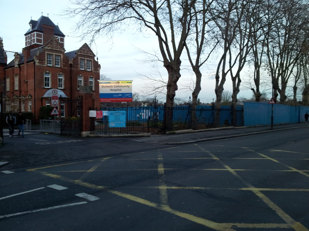 Dulwich's New Health Centre is being built – hooray!!