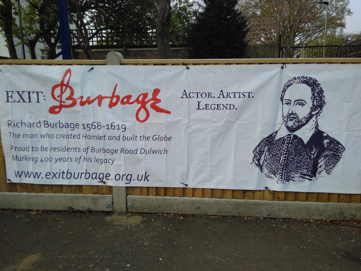 Richard Burbage 1568 – 1619